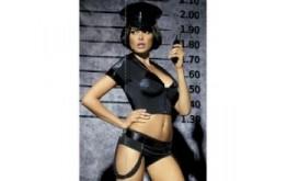 Sexy kostým Obsessive Police set